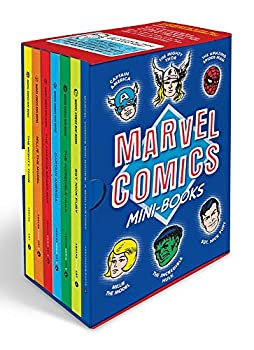 Marvel Comics Mini-Books Collectible Boxed Set  A History and Facsimiles of Marvel's Smallest Comic Books