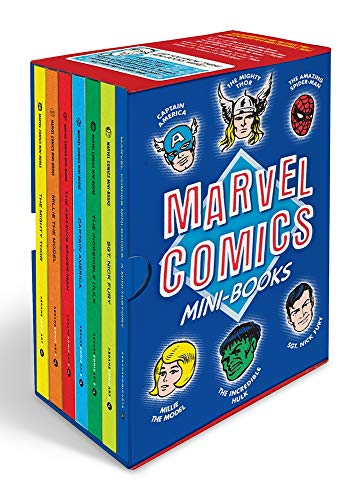 Marvel Comics Mini-Books: A History and Facsimiles of Marvel's Smallest...