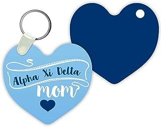 Alpha Xi Delta Mom Keychain