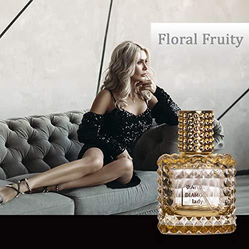 Aristea - Parfum Damen Diamond Lady, Eau de Parfum, blumig-fruchtiges Parfüm für Frauen mit unverwechselbarem Duft (1 x 65 ml)