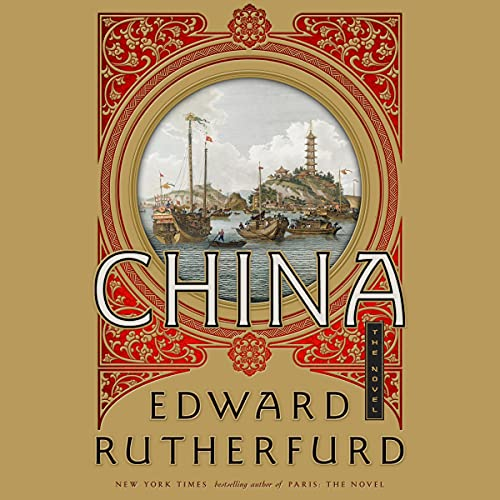 China Audiobook By Edward Rutherfurd cover art