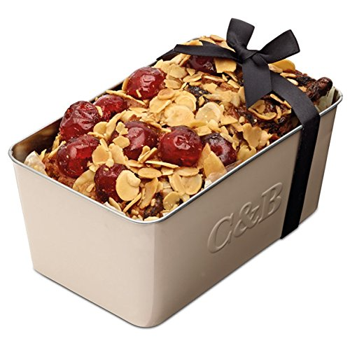 Photo of Cartwright & Butler Cherry and Almond Loaf Fruit Cake | Moist Fruit Cake with Generous Chunks of Cherries and Almonds | Presented in a Signature Loaf Tin | Perfect Gift – Cherry and Almond
