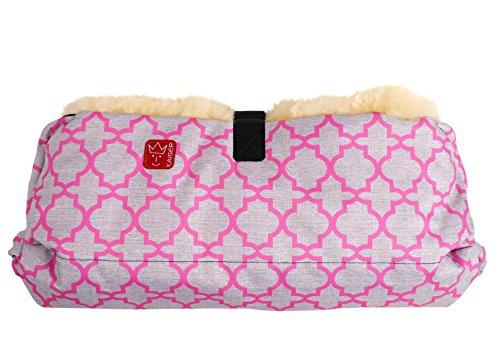 Kaiser 65732337 Handwärmer Big Double, pink - ornament