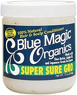 BLUE MAGIC ORGANICS SUPER SURE GRO conditioner 12oz