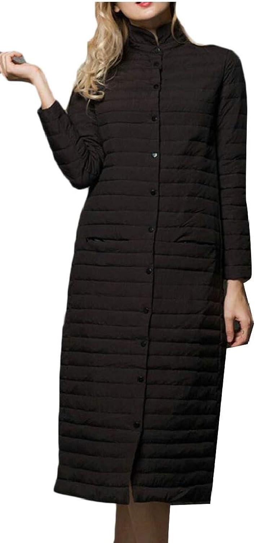 Jxfd Women's Long Down Jack Fashion Winter Packable Puffer Jacket Coat Outwear