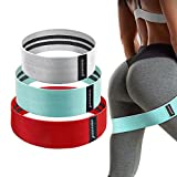 Upgrade Exercise Resistance Bands for Legs and Butt,...