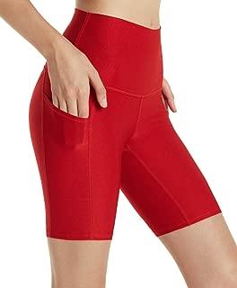 Women's (Pack of 1 or 2) Active Bike Running Yoga Shorts Side/Hidden Pocket Series