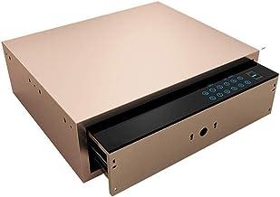 JJYPY Password Drawer Safe,Drawer Fingerprint Password Safe, Touch Screen Wardrobe Safe, Bedside Cabinet Password Box (Col...