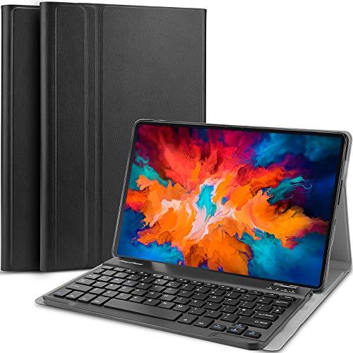 """ProCase Custodia con Tastiera per Lenovo Tab P11 Pro 11.5"""" 2020[TB-J706F/J706L][Inglese US-Layout]], Sottile Leggera Shell Sottile con Tastiera Wireless Staccabile Magnetica –Nero"""