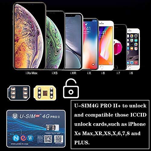 RONSHIN U-SIM4G Pro II Ontgrendelen SIM-kaart Nano-SIM Compatibel voor iOS 12 iPhone XS Max Elektronische Accessoires