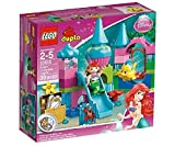 LEGO DUPLO Princesse - 10515 - Jeu de Construction - Le Château de la Petite Sirène
