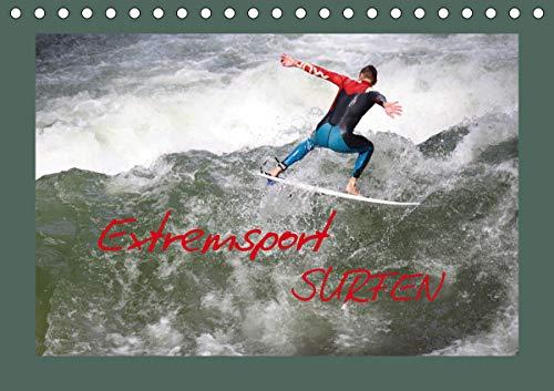 Extremsport Surfen (Tischkalender 2020 DIN A5 quer)