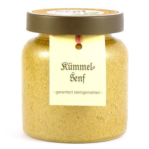 Senfmühle Kleinhettstedt Kümmelsenf - 270 ml
