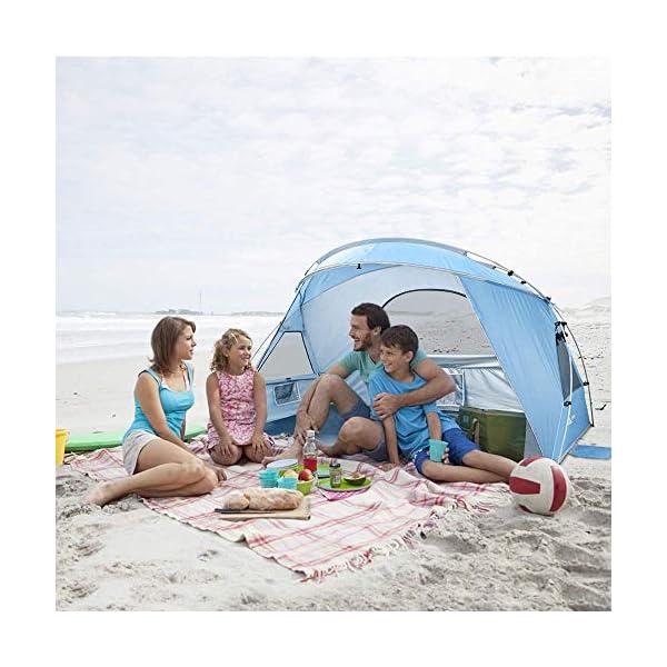 Force 2 a 3 Personas Personas Tienda de Sombra para Acampar en la Playa, UPF50 +, instalación Simple Ligera y fácil de… 1