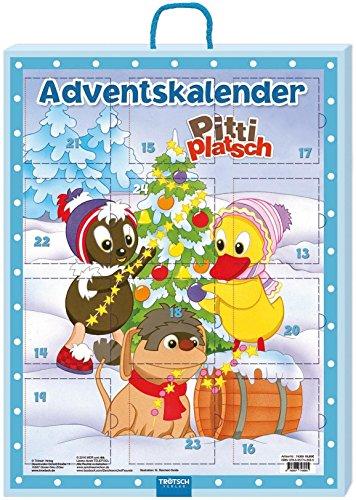 Trötsch Unser Sandmännchen Minibücher Adventskalender Pittiplatsch: Weihnachtskalender für Kinder