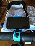 Soporte movil para carrito de bebe - Azul