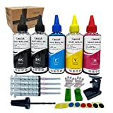 Cossink Kit de recambio de tinta de 500 ml compatible con cartuchos de tinta Canon PG-540 CL-541 PG-540XL CL-541XL 540 541 540XL 541XL PG-40 CL-41