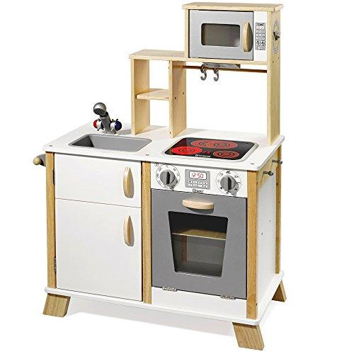 Howa Leksak/barnkök kock av trä med LED-spis 4820