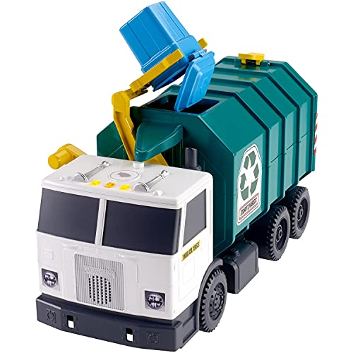 Matchbox Garbage Truck Large [Amazon Exclusive] Multi, 15