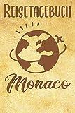 Reisetagebuch Monaco: Reisebuch|  Reise Tagebuch A5,  Reisejournal für Reisende