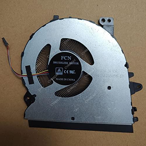 CYRMZAY Ordenador portátil CPU Ventilador para ASUS ZENBOOK UX431F UX431FA Radiator DFS5K121154915 HQ23300020000 Ventilador