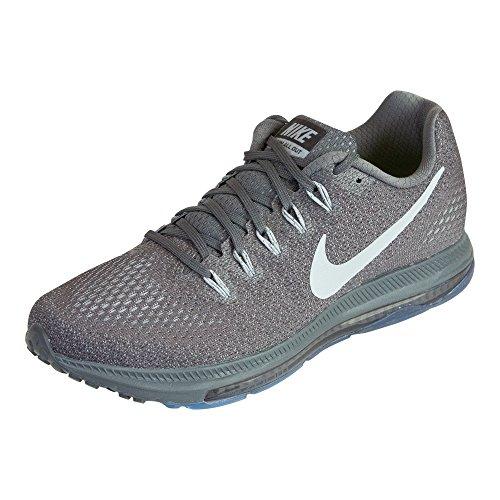 Nike RU Tokyo Donna Canottiera - Grigio Scuro/Grigio Lupo/Platino Puro, UK 7.5 EUR 42 US 8.5
