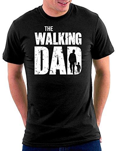 The Walking Dad T-shirt, Größe XL, Schwarz