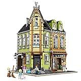 XJJY Conjuntos de Edificios de la casa Modular, Conjunto de construcción de Arquitectura de Centro Comercial, Bloques de 3474 Piezas compatibles con Lego