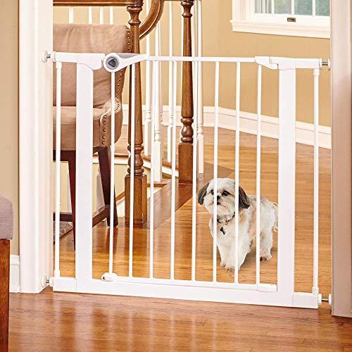 Toddleroo by North States MyPet 381quotquot Wide Essential Walk Thru Gate: Ideal for securing hallways or doorways Extra Wide Doorway Pressure Mount Fits 298quotquot381quotquot Wide 30quotquot Tall Whitequot