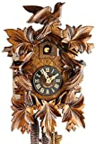 Coucou mécanique en bois, 1 lecteur-jour et certificat-certifié vDS offre -dreivogel 28–06–12–10 28 cm