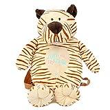 LOCOMO Bags - Mochila Infantil de poliéster niña, Tiger Plush Backpack (Marrón) - BPK011s01