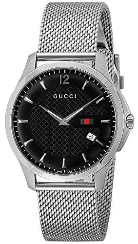 Gucci Reloj G Timeless Ya126308 con esfera negra