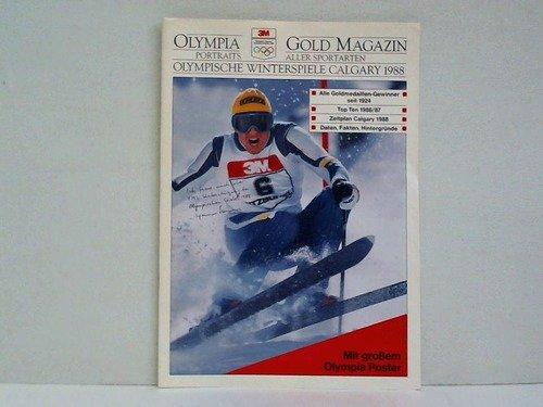 Olympische Winterspiele Calgary 1988. Portraits aller Sportarten