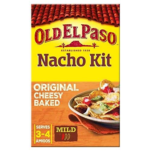 6x Ancien El Paso Originale Kit Nachos Au Fromage Cuit Au Four 520G