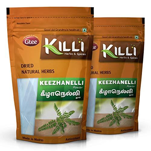 KILLI Keelanelli | Bhumyamalaki | Bhumi Amla | Phyllanthus amarus | NELA usiri Powder, 100g (Pack of 2)