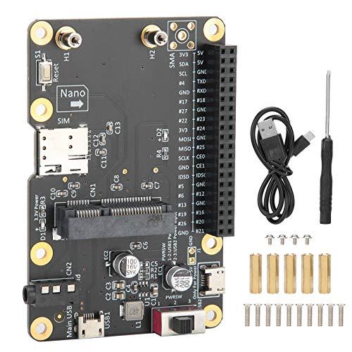 Yeelur 3G / 4G LTE-Computerplatine, mit SIM-Karte Computerzubehör 3G / 4G LTE-Basishut, langlebig für Rock 64 Latte Panda Tinker Board