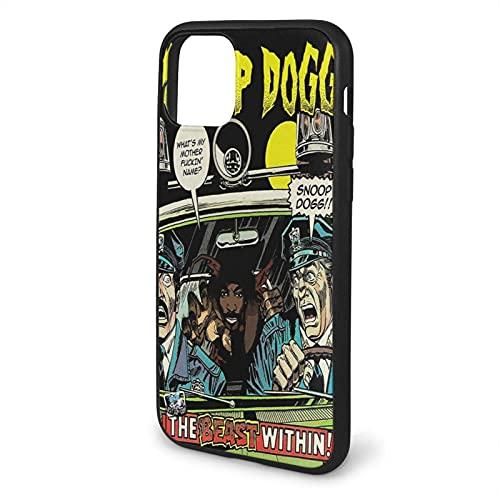 Custom Cajas del Teléfono Compatible con iPhone Samsung Xiaomi Redmi Note 10 Pro/Note 9/8/9A Funda Snoop Dogg Drop Shockproof
