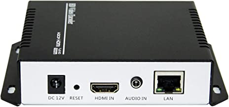 URayCoder H.264 Live HDMI Video Encoder Supports RTSP, RTP, RTMP, HTTP, UDP Protocol and ONVIF for IPTV, Live Stream Broadcast Supports YouTube, Facebook, Wowza