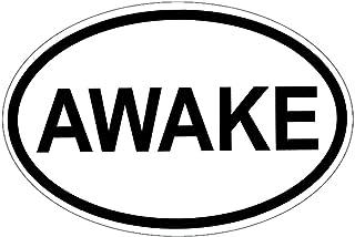 "Peace Resource Project Awake - Bumper Sticker/Decal (4.5"" X 3"")"