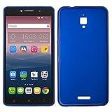 iGlobalmarket Alcatel Pixi 4 6 4G, Funda Silicona, Suave, Ultrafina, Ajuste, Color Azul