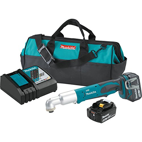 %43 OFF! Makita XLT01 18V LXT Lithium-Ion Cordless Angle Impact Driver Kit