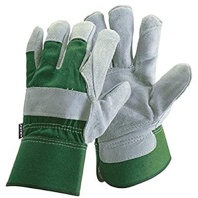 FZTEY Gardening Gloves For Men (Large, Green) by FZTEY