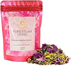 LaJao Yoni Steaming Herbs for V Steam, Herbal Steaming for Women, 2 Ounce 2-4 Steams Vaginal Steam Home Spa, Natural 100% Organic Herbal Blend for Menstrual Cycle Menopause Fertility V Detox Steam