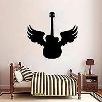 ギターウォールステッカー素材ウォールステッカーホームリビングルームベッドルーム防水ウォールステッカー