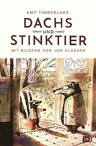 Dachs und Stinktier: Mit Illustrationen von Jon Klassen, Träger des Deutschen Jugendliteraturpreises 2020 (Die Dachs-und-Stinktier-Reihe, Band 1)