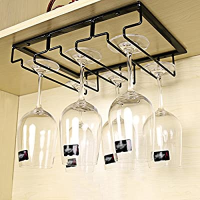 Nclon Stemware Racks Upside Down Hanging Cup Wine Cup Rack Stainless Steel Wine Glass Rack Champagne from Nclon