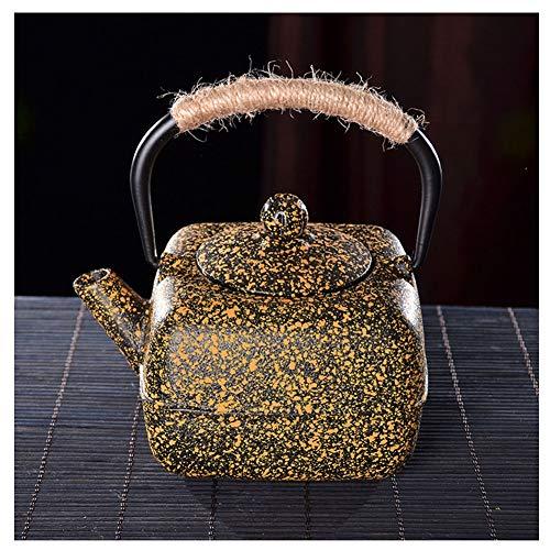 Theepot Kwartet Oude IJzeren Pot Japanse Gietijzeren Pot Theepot Handgemaakte Ketel Thee-oven Theeset Accessoires TONGTONG SHOP-10.13