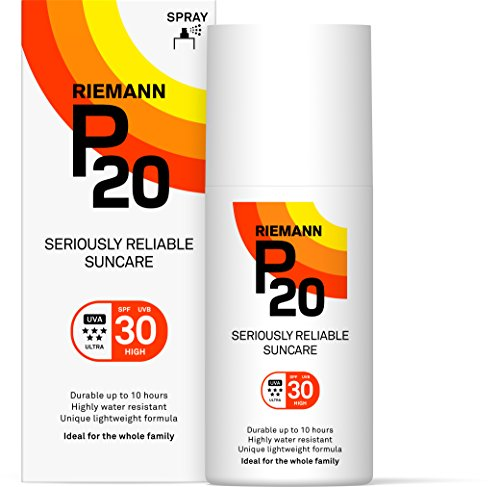 Riemann P20 Sunscreen SPF30 Spray 200ml | Long Lasting UVA & UVB Protection for up to 10 hours | Highly Water Resistant