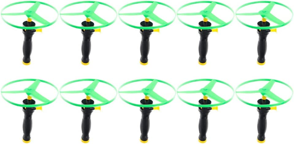 BESPORTBLE 10pcs Flying Disc Toys Creative Fu Tucson Mall Saucer Popular products