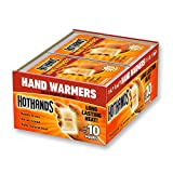 Warmers - Long Lasting Safe Natural Odorless Air Activated Warmers - Up to 10 Hours of Heat - 40 Pair